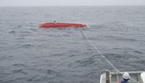 船体救助作業
