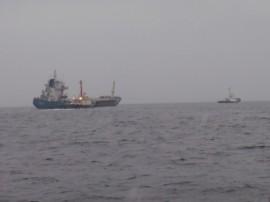 貨物船YONGNIX、浸水事故